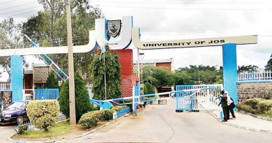 UNIJOS VC charges successor to build on legacies